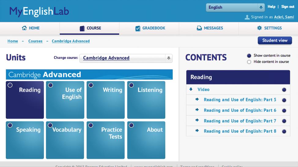 corsi online di lingua inglese a salerno