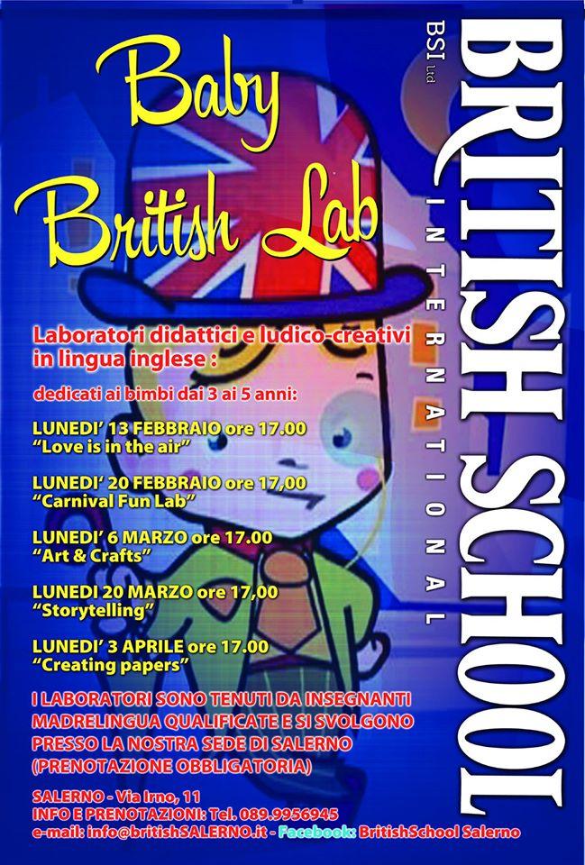 laboratori di inglese per i più piccoli