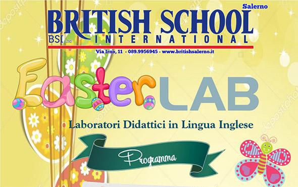 easter lab di british school salerno