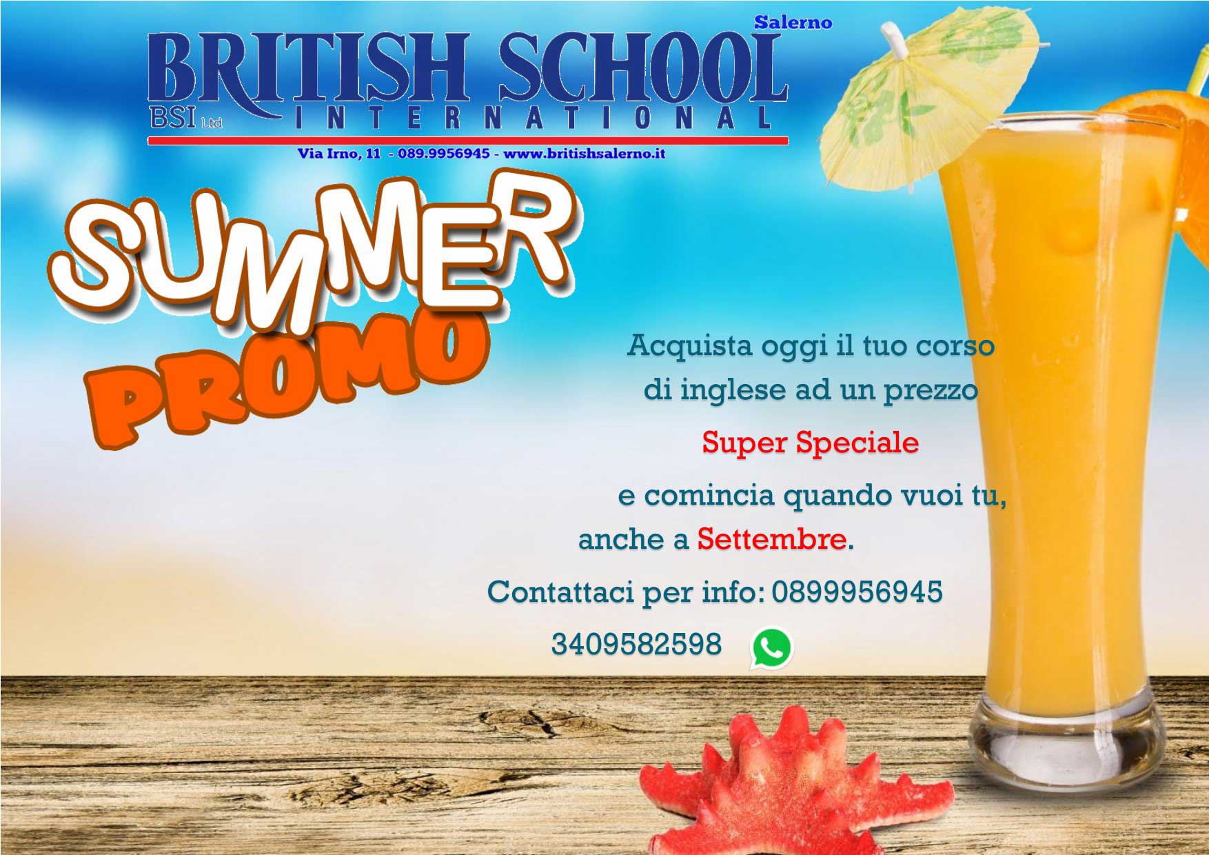 summer promo 2017 della british school salerno